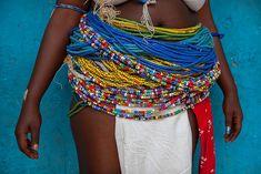 Africa | Girl adorne