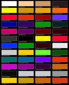 car paint color chart maaco - DriverLayer Search Engine