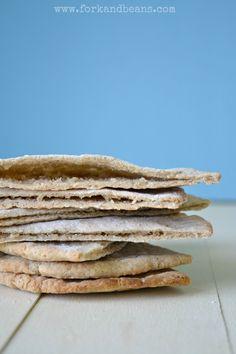 Pita Bread (gluten, egg, and dairy-free)