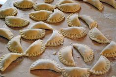Polish Pierogi's. I can't wait to surprise my polish husband with these. Thank you for sharing