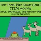 STEM activities may seem daunting when teaching young children. This is a STEM activity that I created to go with the folk tale, The Three Billy Go...