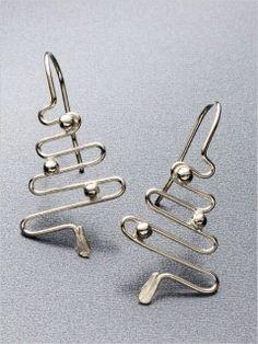 Holiday Wire Earrings | InterweaveStore.com