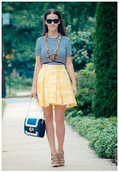 Zara Sandals, Skirt, Diy Necklace