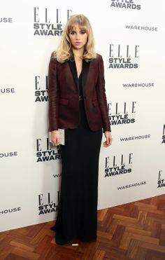 Suki Waterhouse at the ELLE Style Awards 2014.
