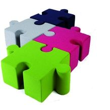 Puzzle pieces for furniture