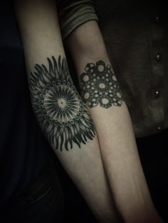 mandala tattoos anchor