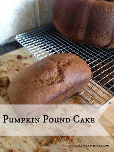 Pumpkin Pound Cake - Eazy Peazy Mealz