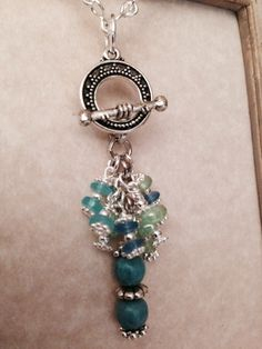 To see more of my Interchangeable Necklace like my facebook page www.facebook.com/beaddangledesign