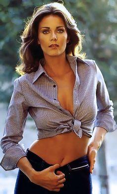 Lynda Carter aka Wonder Woman - I love the outfit