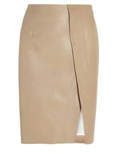 Acne Kay leather skirt