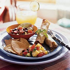 100 Mexican Recipes | Vegetarian Taquitos | CookingLight.com