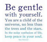 gentle.