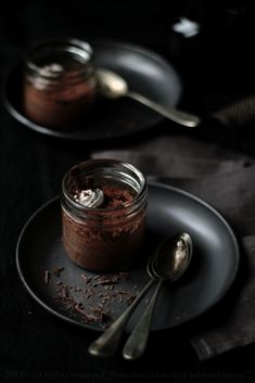 Chocolate Coconut Petits Pots