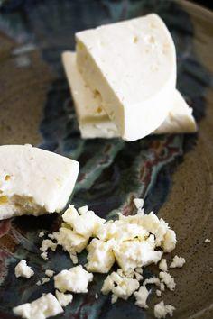 Perfect Homemade Feta Cheese