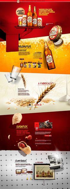 Web design inspiration webdesign, conti, ui design, web design, amaz web, beer website, websit design, design layouts, website designs