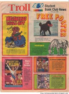 Don't forget, you get a free poster with your order! | 50 Things Only '80s Kids Can Understand