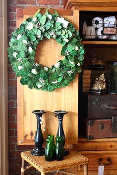 Wreath...luv this