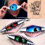 Do I Look Like a CYCLOPE – Blinking Origami Eye