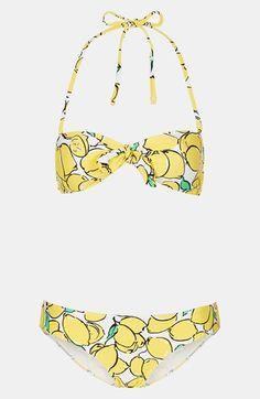 'Sicilian Lemon' Bikini. Reminds me of sorrento.