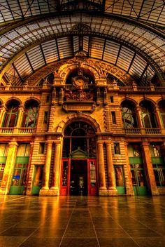 Central Station - Antwerp, Belgium