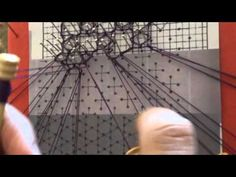 ▶ Encaje de Bolillos. Punto de la virgen picado 2 - YouTube