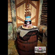 Pirate Cake by Party