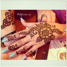 Lovely henna clients