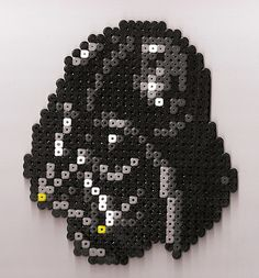 Star Wars  Darth Vader perler beads by Exodecai