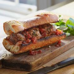 Lamb Meatballs with Cumin, Mint, and Tomato Sauce // More Delicious Meatball Recipes: www.foodandwine.c... #foodandwine