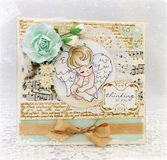 A soft Sympathy card  Whiff of Joy