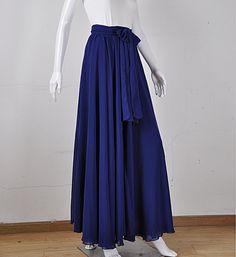 Etsy listing at https://www.etsy.com/listing/189785198/modest maxi-skirt-woman-chiffon-silk-skirts