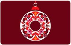 iTunes Holiday Ornament Gift Card $25