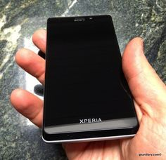 Win a (practically) New Sony Xperia T Android Phone from Gear Diary!!