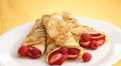 Good crepe recipe--with suggestions for fillings