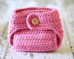 crochet diaper cover :)