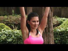 Hilaria Baldwin: Chest & Spine Yoga Workout