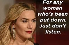 Kate Winslet Gave An