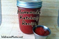 Healthy Homemade Ketchup Recipe