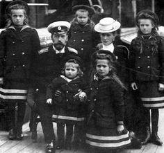 The Romanovs on the Standart, their yacht