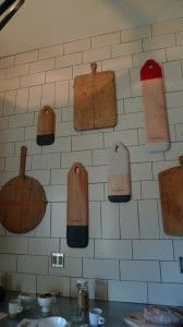 cutting boards etc.