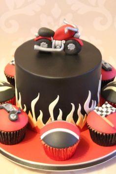 Motorbike Cake.