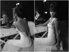I ADORE this.  Seen this gorgeous back plenty a times and so glad this blogger found the front! <3 wedding dressses, evening dresses, bridal musings, dream dress, mermaid wedding dresses, dress fashion, dream wedding dresses, the dress, gown