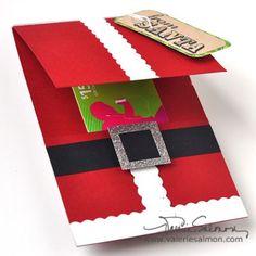 Cute gift card holder.