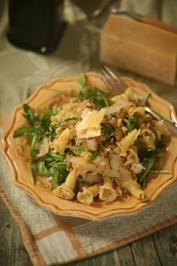 Pasta with Rabbit Sausage Recipe