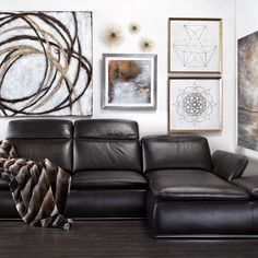 Make your living room a modern lounge with our Boulevard Sectional, 15% off through 11.11.