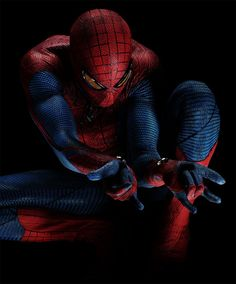 Spider-Man as seen in the upcoming Amazing Spider-Man reboot.