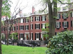 Louisburg Square, Beacon Hill; Boston, Massachusetts