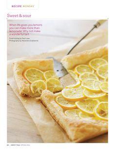 tarts, puff pastri, lemons, food, paul magazin, meyer lemon, magazines, sweet paul, lemon tart