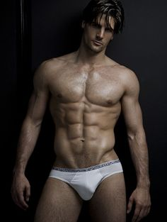 Alesso, male fitness model | © Rick Day ► rickday.blogspot.com ▬ #malemodel #male_model #hotguy #hot_guy #ripped #barechest #muscle #hunk #nicearms #sixpackabs #pecs #biceps #armpits #bodybuilder #bikinibrief #comehither