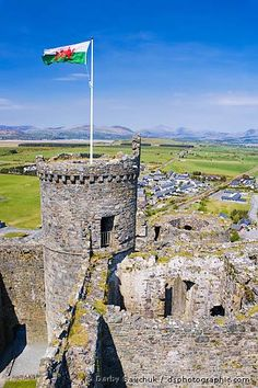 Harlech Castle, Gwynedd, North Wales